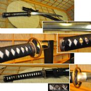 Taka-Chigai (Crossed Feathers) - Skyjiro Shinken Katana